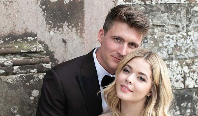 Hollywood actress Sasha Pieterse marries in Castle Leslie with a touch of Voltaire Diamonds