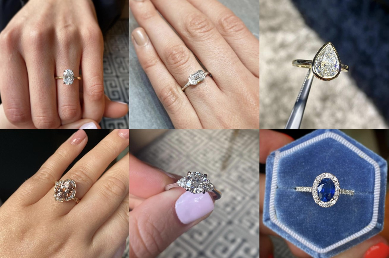 Engagement ring trends 2021